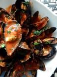 ムール貝のマリナラソース