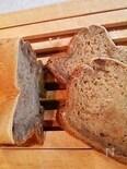 メープルシロップと干し柿の豆乳パン