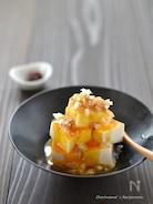 お豆腐ユッケ