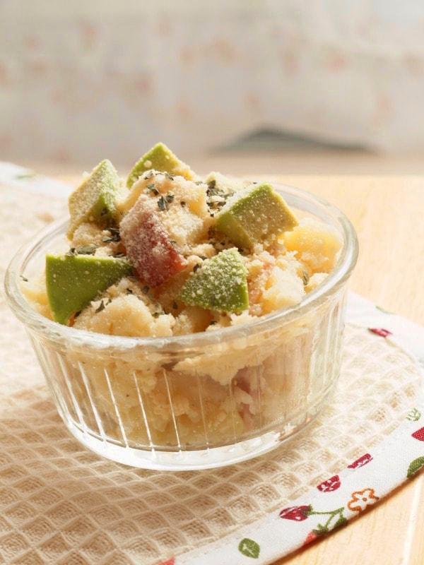 5. アボカド&ポテトのクリーミーサラダ
