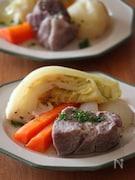 塩豚と春野菜のごろごろポトフ。