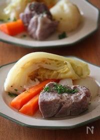 『塩豚と春野菜のごろごろポトフ。』