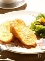 トリプルココナッツでフレンチトースト