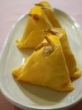 桜えびの三角茶巾ずし