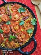 ORZOパスタの野菜たっぷりのコンビーフカレーパイエリア