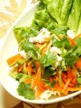 新にんじんとパクチーのタイ風サラダ