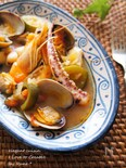 Arroz Brut マジョルカ風の海鮮ライススープ