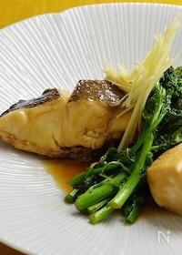 『料亭の味、鯛の煮付け』