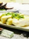 塩豆腐の和風ステーキ