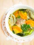 臭みなし!さば缶とたっぷり野菜のスープ