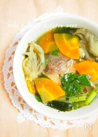 『臭みなし!さば缶とたっぷり野菜のスープ』
