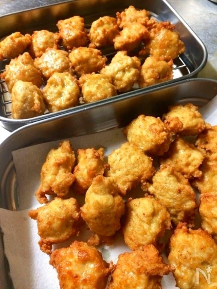 お弁当のおかずにぴったり!チキンナゲットレシピ15選の画像