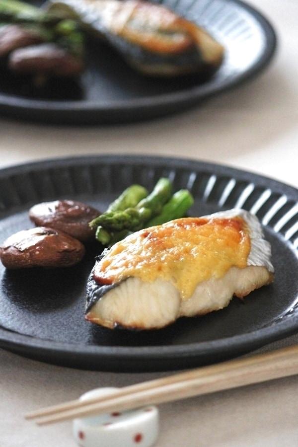 子どもにも♩さわらの味噌マヨ焼き