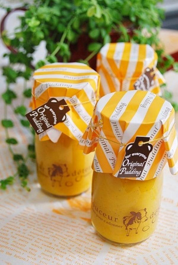 豆乳かぼちゃプリン