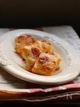 苺ジャムdeおやつパイ。
