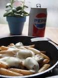 """""""フライパン1つ""""空豆とペンネのとろ~りチーズ"""