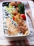 鶏唐揚げのお弁当。