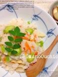 筍とソラマメの炊き込みご飯