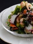 ごちそう海鮮サラダ・手作りドレッシングで