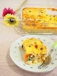 サラダ代わりに! かぼちゃと大豆の美容豆乳キッシュ
