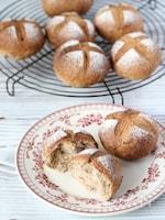 【天然酵母パン】胚芽ココナッツくるみ