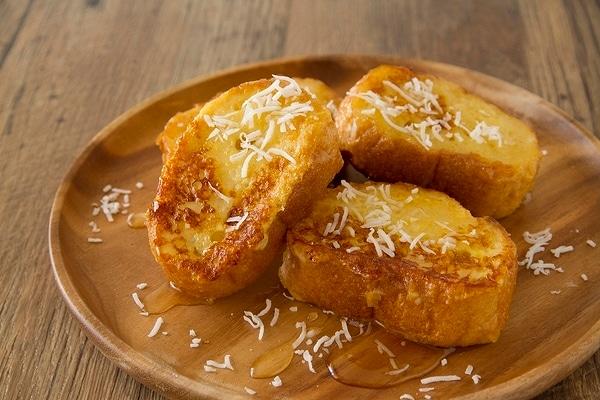バターなし◎ ココナッツオイルのフレンチトースト