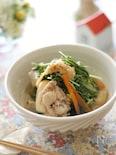 鶏手羽と水菜のさっと煮