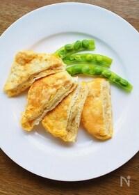 『簡単です★油揚げのチーズ・ピカタ』