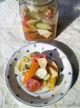 野菜たっぷりマリネ