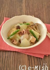 『【缶詰レシピ】鶏じゃがゆず胡椒風味』