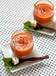 トマトとセロリのガスパチョ(いしる使用)