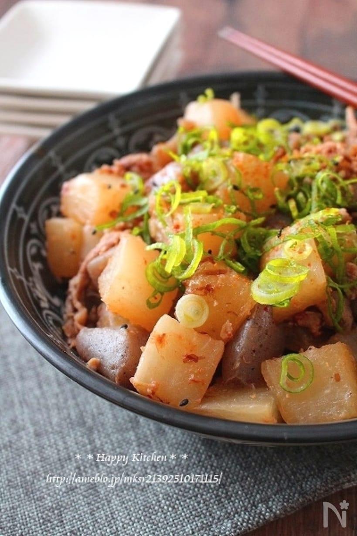 こんにゃく×大根の人気・定番レシピ15選!和え物から煮物までの画像