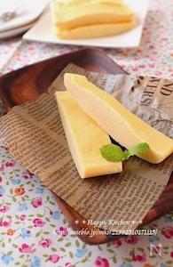 レンジで3分!混ぜてチンするだけチーズケーキ