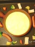 ピザ用チーズで♪ホットプレートチーズフォンデュ