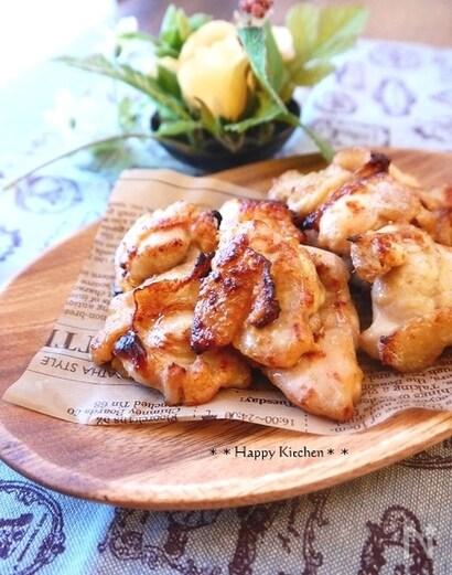 トースターで簡単!味噌マヨチキン