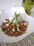 根菜のタコライス