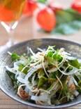 玉葱と若布の和風気分なサラダ