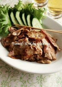 『時間が美味しくしてくれるんです♪タイの豚焼き、ムー・ピン 』