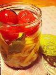 カリフラワーとトマトの美肌ピクルス