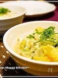 白菜消費、あと1品に♪白菜とツナの卵とじ