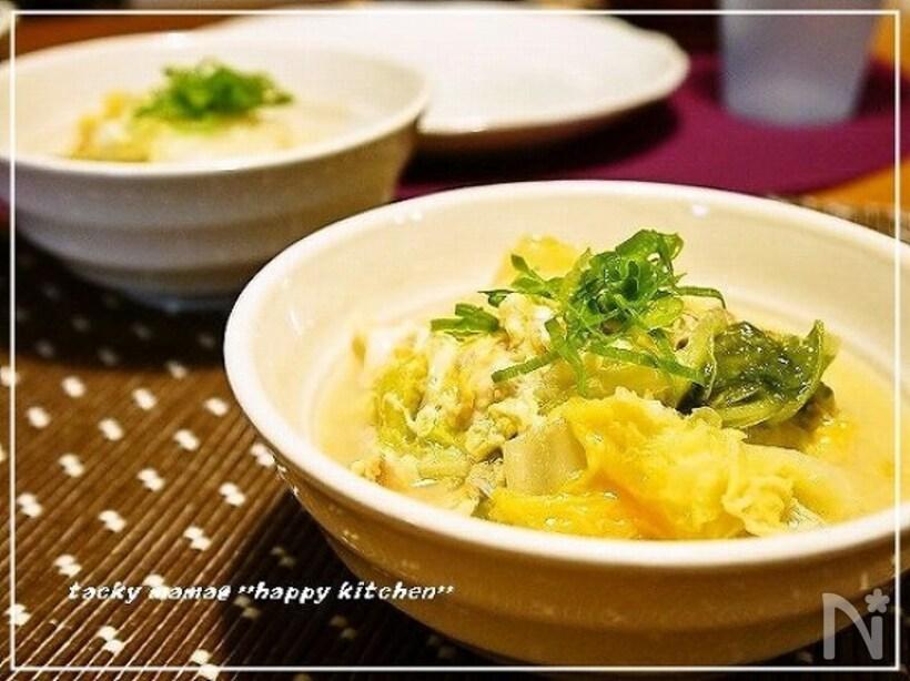 もう余らせない!白菜×たまごで作る絶品レシピ15選の画像