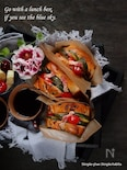 マヨネースで炒めるズッキーニのサンドイッチ
