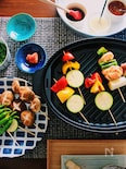 <BRUNO>3種類のタレで食べる★おうち焼き鳥