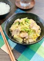 楽旨冬おかず*豚バラ白菜の麺つゆ炒め《食材2つ+調味料2つ》