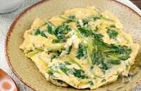 *味付けは麺つゆだけ*三つ葉の卵とじ《簡単本格和食》