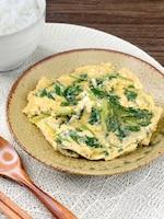 *麺つゆ一つで味決まる*三つ葉の卵とじ《簡単本格和食》