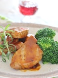 豚ヒレ肉のオレンジデミソース