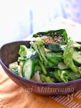 *春キャベツと小松菜ときゅうりの浅漬け*