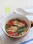 ダイエットに!ささみとトマトの中華風スープ