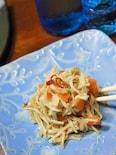 エノキと人参のペペロンチーノ(簡単‼美味しい♡副菜③)